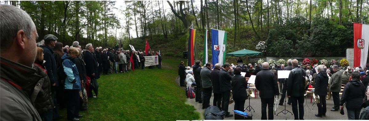 Gedenkveranstaltung Wenzelnbergschlucht 2012