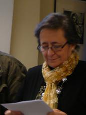 Rosa Rabiais bei ihrer Ansprache.